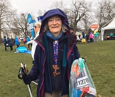 Barbara Carlisle finish