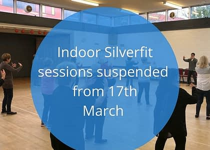 Indoor sessions suspended until further notice