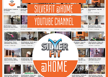 Silverfit @Home produced over 50 videos in 7 weeks!