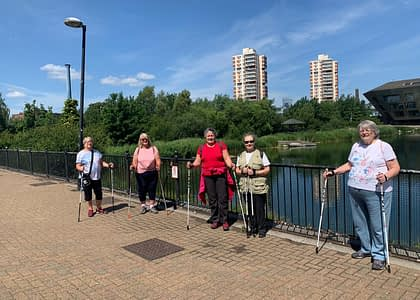 Nordic Walking session re-introduction a success!