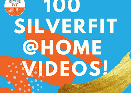 100 Home Workout videos now on our Silverfit @Home channel!!