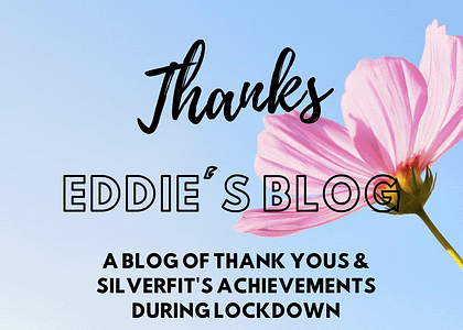 A blog of thanks from Eddie
