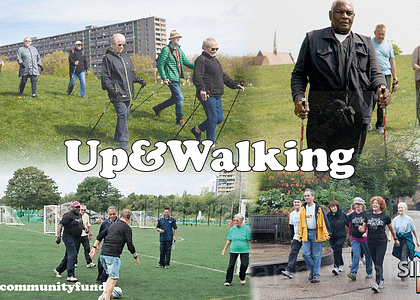 Crowdfunder for NEW Silverfit initiative – 'Up&Walking'