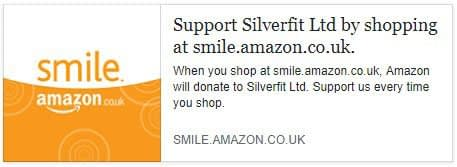 You can now support Silverfit when you shop with Amazon!
